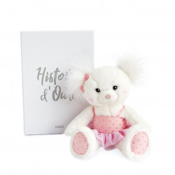 Histoire d'ours - Ours Pomponette - 25 cm - HO2857