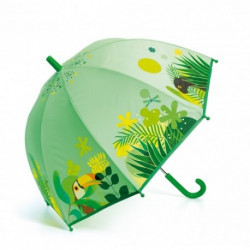 Djeco - Parapluie - Jungle tropicale - DD04702