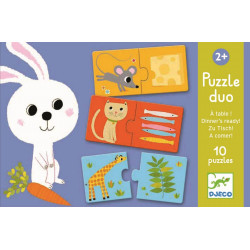 Djeco - Puzzle duo - A table ! - DJ08166