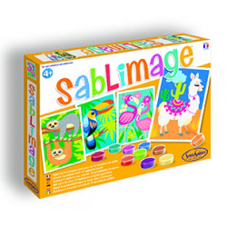 SentoSphère - Sablimage - Animaux Sud-Américains - 8811 - Made in France