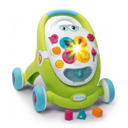 Smoby - Trotteur 2 en 1 - Cotoons Walk & Play - 110428 - Made in France
