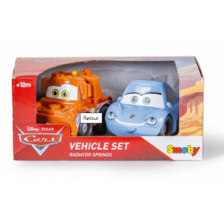 Smoby - Vroom Planet Coffret 2 véhicules Cars - 120219