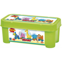 Ecoiffier - Baril le train des animaux - Abrick - 7840 - Made in France