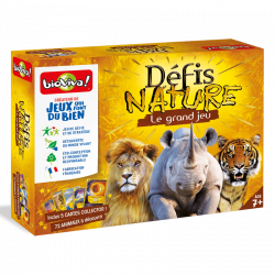 Bioviva - Défis nature Le grand jeu - Jeu de plateau - Made in France - 280143