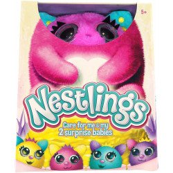 Goliath - Nestlings Rose - Peluche interactive - 32240