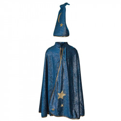 Great Pretenders - Cape de magicien starry night avec chapeau - 5/6 ans - 62005