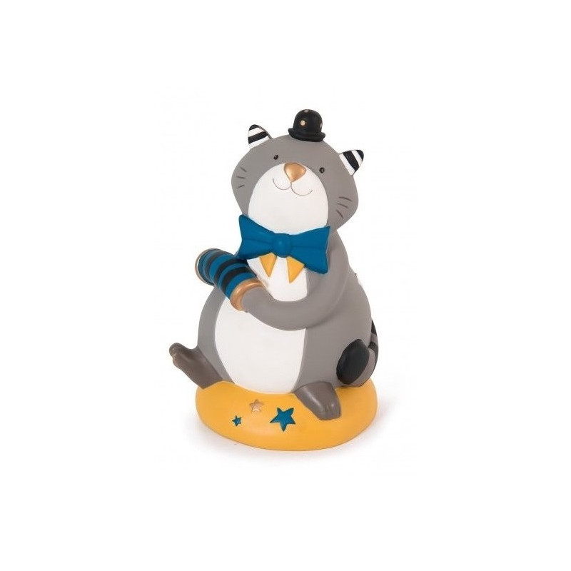 Moulin Roty - Tirelire chat Les Moustaches - 666170