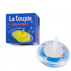 Moulin Roty - Toupie lumineuse éternelle bleue - 711127