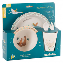Moulin Roty - Set vaisselle Le Voyage d'Olga - 714231