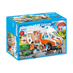 Playmobil - Ambulance de secours - City life - 70049