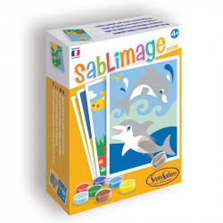 Sablimage Mini - Animaux Exotiques - SentoSphère - 8101 - Made in France