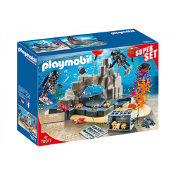 SuperSet Unité de plongée sous-marine - City action - Playmobil - 70011