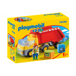 Camion benne - Playmobil 1 2 3 - 70126