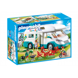 Famille et camping-car - Playmobil City life - 70088