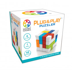 Smart games - Plug & Play Puzzler - Mini cube - Jeu de réflexion - SG 502