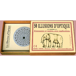 50 illusions d'optique - Marc Vidal - 973