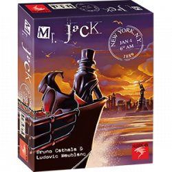 Mr. Jack - New York - Jeu d'enquete - Hurrican - Asmodee - 700301