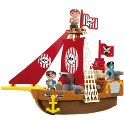 Bateau de pirates - Abrick - Ecoiffier - 3023 - Made in France