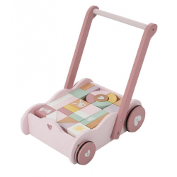Chariot à blocs - pink - Little Dutch - LD4414