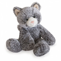 Peluche Sweety Mousse Chat - 25 cm - Histoire d'ours - HO3008