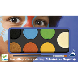 Palette de maquillage - Couleur nature - Djeco - DJ09230