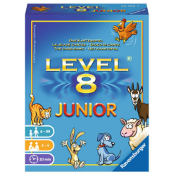 Level 8 Junior - Jeu de cartes - Ravensburger - 207862