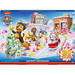 Paw Patrouille - Calendrier de l'Avent - Spin Master - 6059302