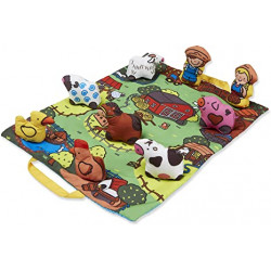Take along farm play mat - Melissa & Doug - 19216