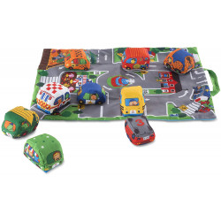 Take along town play mat - Melissa & Doug - 19214