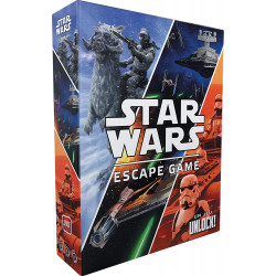 Unlock ! Star Wars - Space Cowboys - Asmodee - SCUNLSW01FR