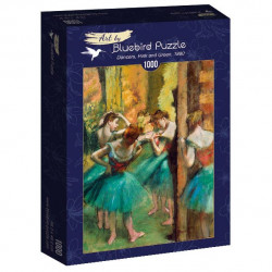 Puzzle 1000 pièces - Degas - Dancers Pink and Green - 60047