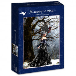 Puzzle 1000 pièces - Queen of shadows - 70424