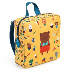 Sac à dos - sac maternelle ours - Djeco - DD00251