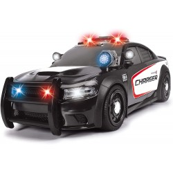 Dodge Charger police son et lumière - Dickie Toys - 203308385