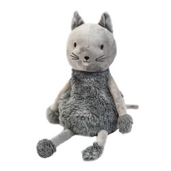 Bouillotte sèche Chat gris - Soframar - AR0264 - Made in england