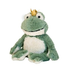 Bouillotte sèche Grenouille couronne Cozy Peluche - Soframar - AR0184 - Made in england