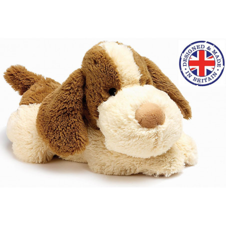 Soframar - Bouillotte sèche Chien Cozy Peluche - AR0081 - Made in england