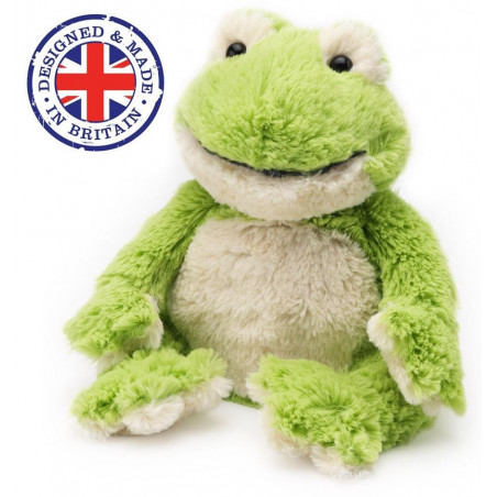 Soframar - Bouillotte sèche Grenouille Cozy Peluche - AR0184 - Made in england