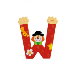 Sevi - Lettre Clown W -...