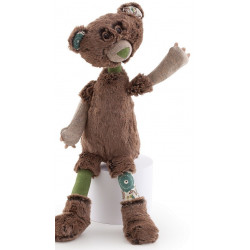 Trudi - Peluche ours - Basile - 33 cm - Forest Angel - 19406
