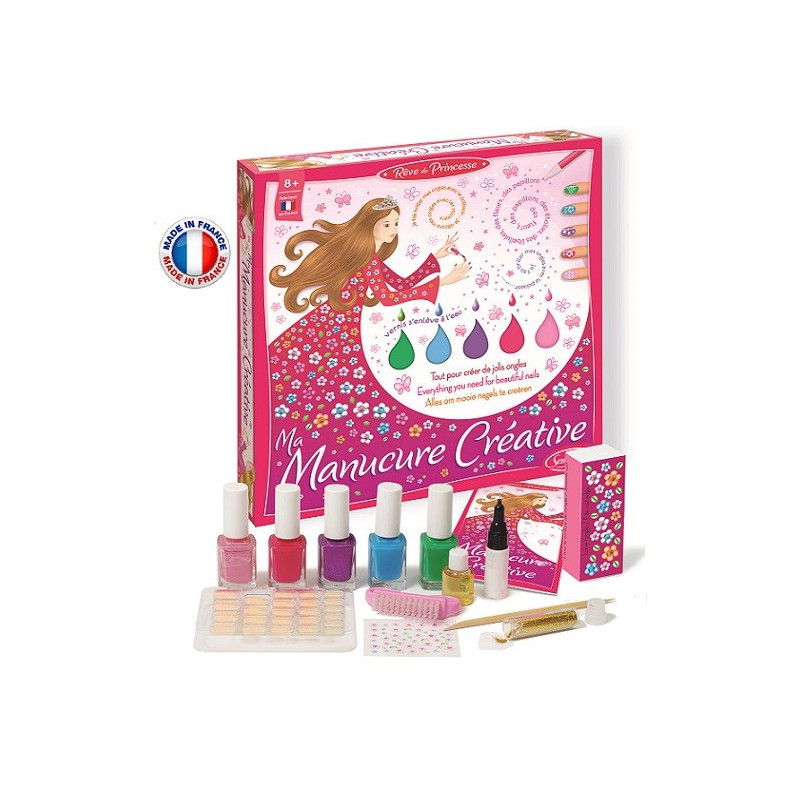 SentoSphère - Dream of Princesses - Ma Manucure Créative - 140 - Made in France