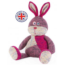 Soframar - Bouillotte sèche Lapin rose Warmies - AR0245 - Made in england
