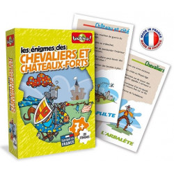 Bioviva - Enigmes Chevaliers et Châteaux-forts - Jeu de cartes - Made in France