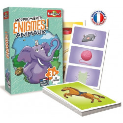 Bioviva - Mes Premières Enigmes - Animaux - Jeu de cartes - Made in France