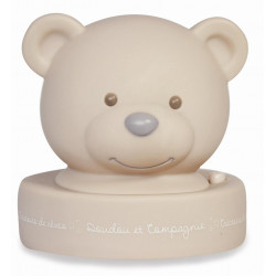 Doudou et Compagnie - Veilleuse - Ours - taupe - DC2488