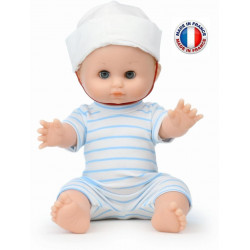 Poupée Petitcollin - Petit Câlin - Croisette - Poupon - 28 cm - 612836 - Made in France