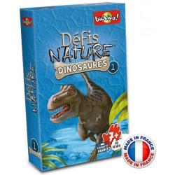 Bioviva - Défis nature - Les dinosaures 1 - Jeu de cartes - Made in France