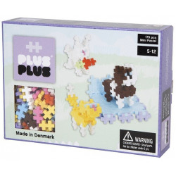 Plus Plus - Puzzle Box Mini Pastel animaux 170 - PP3727