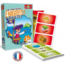 Bioviva - Mes Premières Enigmes - Pirates - Jeu de cartes - Made in France