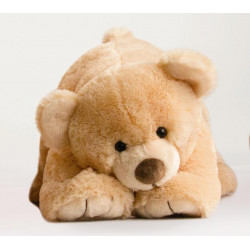 Histoire d'ours - Gros ours miel - 50 cm - HO2523